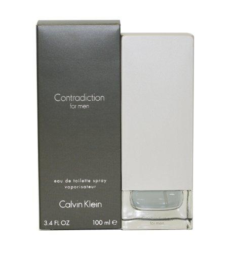 Calvin Klein Contradiction, Agua de Tocador Vaporizador para Hombre, 100 ml