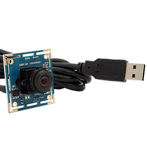 ELP 720P HD UVC USB Webcam Weitwinkel Cam M12 Fischaugen-objektiv CMOS Kamera Modul für Industrielle Maschine Vision Cmos-modul