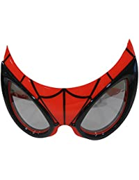 0903993be3 Spiderman Novelty Sunglasses Sunglasses Red Black - Red Black - UK SIZES 1-