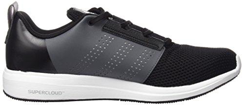 adidas Madoru 2 M, Chaussures de Running Compétition Homme, Orange, Blanc Blanc / gris (noir essentiel / noir essentiel / nuit métallique)