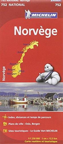 Carte NATIONAL Norvge par Collectif Michelin