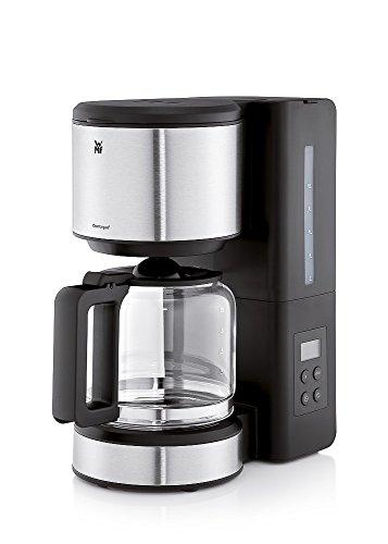 WMF Stelio Digital Filterkaffeemaschine (1000 Watt, mit Timer Aroma Glaskanne, 10 Tassen Tropfstopp,...