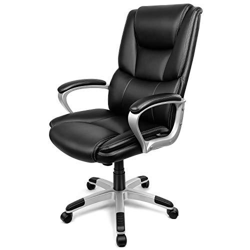 INTEY Chaise de Bureau Fauteuil de Bureau en...
