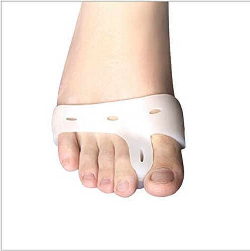 2 paires Toe Nouveau multifonction Silicone Gel Pad séparateurs avant-pied Pads Chaussures Semelles