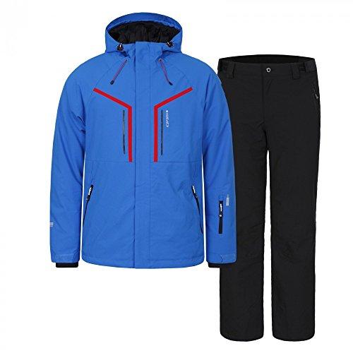 Icepeak Herren Skianzug, Farbe:Blau;Bitte Größe wählen:48