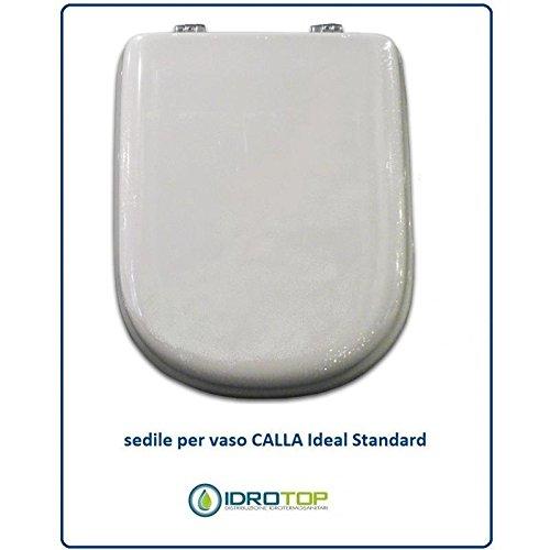 Copriwater Ideal Standard CALLA BIANCO I.S. Cerniera Oro-Sedile-Asse Wc