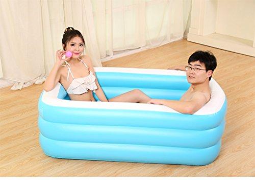 Aislamiento Espesado Plegable Adulto Tubo inflable Niños Lavabo ( Tamaño : 125*85*45cm )