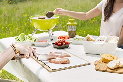 Tomorrow`s Kitchen Party Schneidebrett, Naturfaser, weiß 35 x 25 x 0.6 cm 10-Einheiten