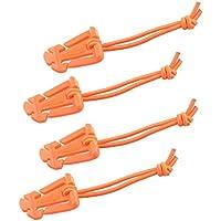 4 MOLLE Web Dominators con laccio elastico e resistente tracolla tattica Strumento di gestione, Zaino, Tactical Gear Clip, Chiusura multiuso