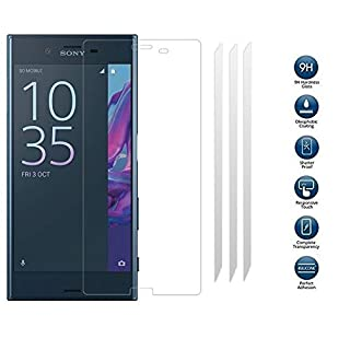 TeKKno® 3x 9H Hardness TEMPERED GLASS LCD Screen Protector Guard Case Cover for SONY XPERIA XZ PREMIUM