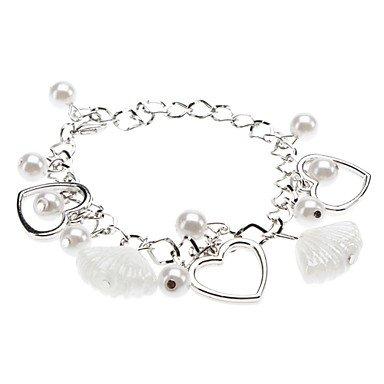 amor-pulsera-del-esmalte-de-la-perla-de-las-mujeres-silver-one-size-silver-one-size