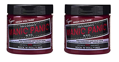 Manic Panic High Voltage Rock N Roll Red Classic Hair Color 118ml x2