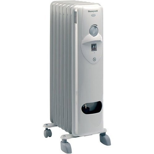 Honeywell HR-40715E2 Radiador de aceite, 600 W, Color blanco