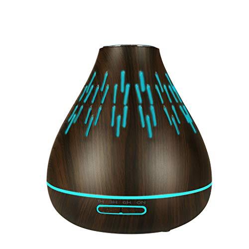 HCFKJ Luft Aroma Luftbefeuchter USB LED Ultraschall Aroma Luftbefeuchter Ätherisches Öl Diffusor Aromatherapie Luftreiniger (MUL)
