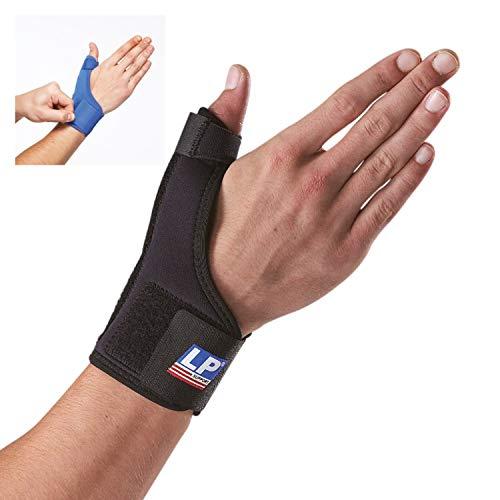 LP Support 763 Daumenorthese - Daumen-Bandage aus der Basic Serie - Daumenstütze - Handbandage, Größe:L, Farbe:schwarz -