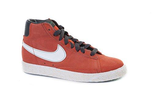 Nike Scarpe Sneakers BLAZER MID VINTAGE (PS) Bambini Ragazzi Arancione 539931-80 -