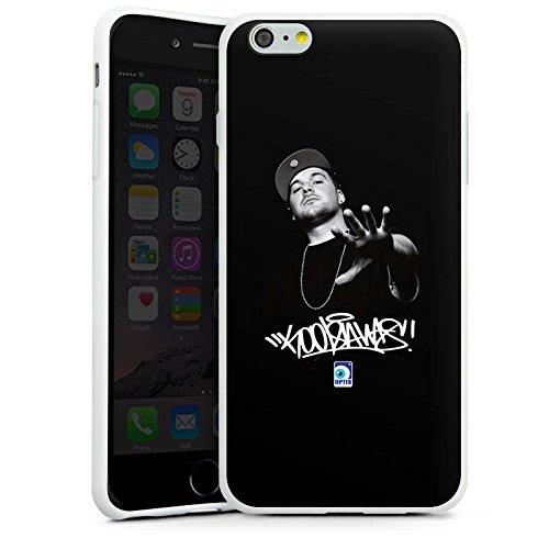 Apple iPhone X Silikon Hülle Case Schutzhülle Kool Savas Fanartikel Merchandise KKS Silikon Case weiß