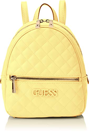 Guess Damen Elliana Backpack  Rucksack Damen - Gelb (Yellow) - 22x29x10.5 centimeters (W x H x L) Chili Peppers-designer