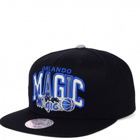 Mitchell & Ness NBA Orlando Magic Reflective Tri Pop Arch VQ85Z Snapback Cap
