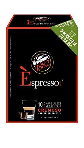 Caffè Vergnano 1882 Èspresso1882 Cremoso - 10 Capsule - Compatibili Nespresso 3er pack