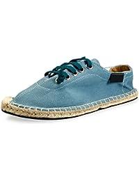 GRÜNLAND Rion SC1692 Zapatillas de Deporte Zapatos de Cáñamo Hombre Deportivos Fabricados EN Italia 44