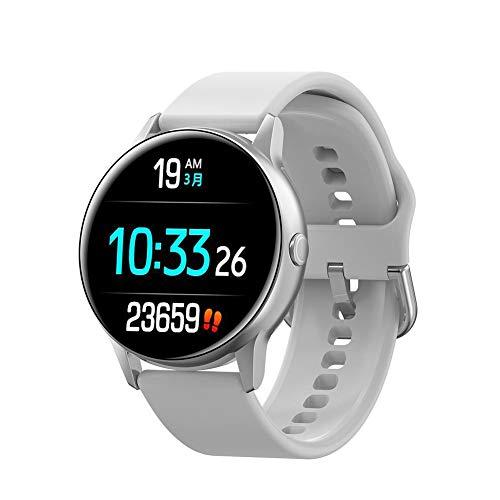 en Bluetooth Intelligente Uhr, Wasserdichtes Armband des Eignungs-Verfolger-Ip68 Für IOS Android, Intelligente Uhr Mit Eignungs-Verfolger-Blutdruck-Monitor ()