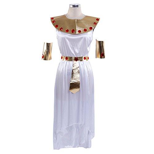 Imagen de disfraz de cleopatra emperatriz egipcia reina de egipto para mujer fiesta vestido alternativa