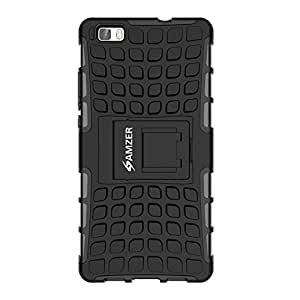 AMZER HYBRID WARRIOR IMPACT RESISTANT CASE COVER FOR HUAWEI P8 LITE