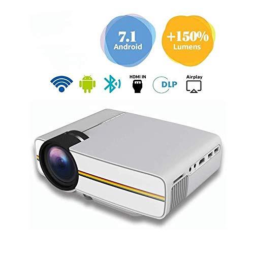 Projektor-3600 Lumen 1080p Video Android WiFi Projektor LCD führte volles HD Theater für Hauptunterhaltung, Verbesserung