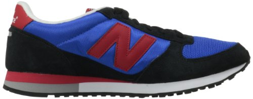 New Balance ,  Sneaker uomo Black Black Black/Blue/Red