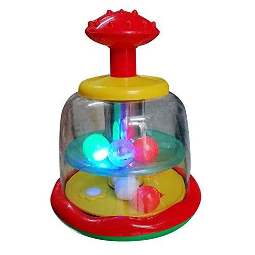 Kanaiya Plastic 3D Spiner Lights (Multi-Colour)