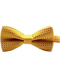 Boy Utiles Bow Tie Vêtements élégant accessoire jaune