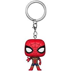 Funko- Avengers Infinity War Iron Spider Bobble-Head Llavero (27302-PDQ)