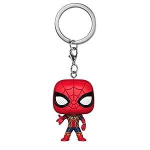 Funko- Pocket Pop Marvel Avengers Infinity War Iron Spider Portachiavi, Multicolore, Standard, 27302-PDQ 2 spesavip