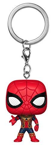 Funko 27302-PDQ S1 POP Schlüsselanhänger Figur: Marvel: Avengers Infinity War: Iron Spider, Multi -