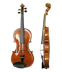 Surjan Singh & Sons Violin With Bow & Case 4 Strings