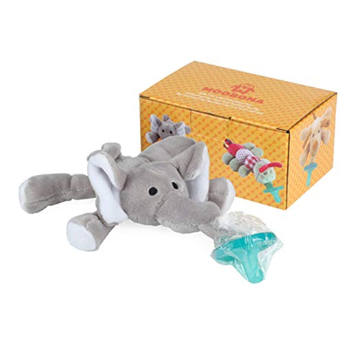 mxdmai Infant Pacifier Toys Nippel Suspension Typ Pacifier Elefant-Form Nub Infant Pacifier 1Pcs