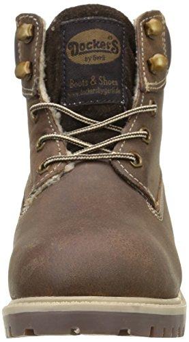 Dockers by Gerli Unisex-Kinder 35fn701-400 Combat Boots Braun (cognac 470)