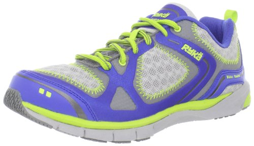 Ryka Avert Femmes Synthétique Chaussure de Course Med Blu-Dk Gry-Gry