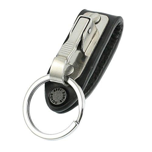 TOOGOO(R) Cadena de llave aro de cinturon de cuero falso diseno...