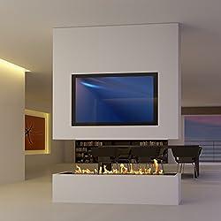 Sonderanfertigung 8: biombos con TV y bioetanol/eléctrico Opti de Myst