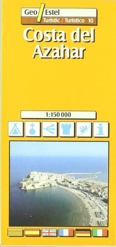 Costa Del Azahar (Castello, Valencia) Tourist Map 1:150, 000 (Tourist Maps) Revised Edition by Geo Estel published by SGIT Geoestel SA (2005)