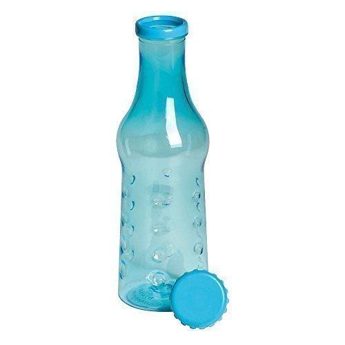 Botella de Plástico Estilo Vidrio de 600ml Botella de Agua para Bebé