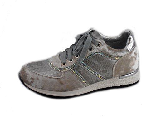 Rebelde, Sneaker donna Grigio
