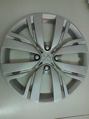 R.Vi.Autoforniture srl Set 4 Coppe Ruota Copricerchio Borchie Peugeot 208 dal 2012 r 15