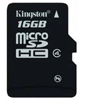 Kingston 16 GB Class 4 Micro SDHC Memory Card