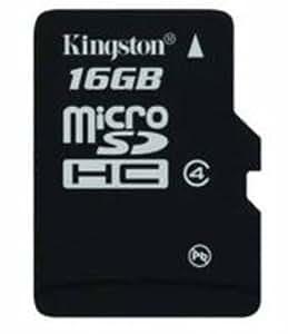 Kingston 16GB Class 4 Micro SDHC Memory Card