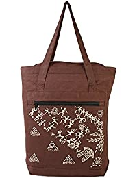 Handmade Products - Machine Embroidery On Cotton Shopping Bag | Fashion Hand Bag | Designer Shopping Bag | Indian...