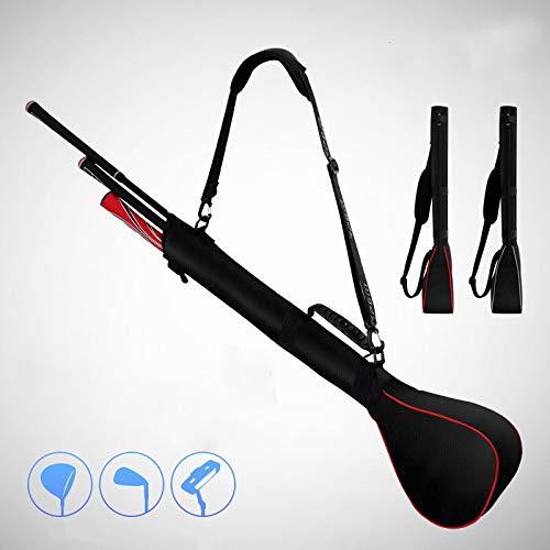 HAMISS Mini Golf Bag Foldable Design Portable Bag Hold 3 Clubs