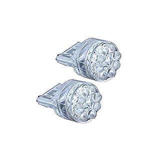 AP Automotive 2x T20 LED Bulbs White 12v (9x LED 1210 7440) 3157 - W21W - W3x16q - T20